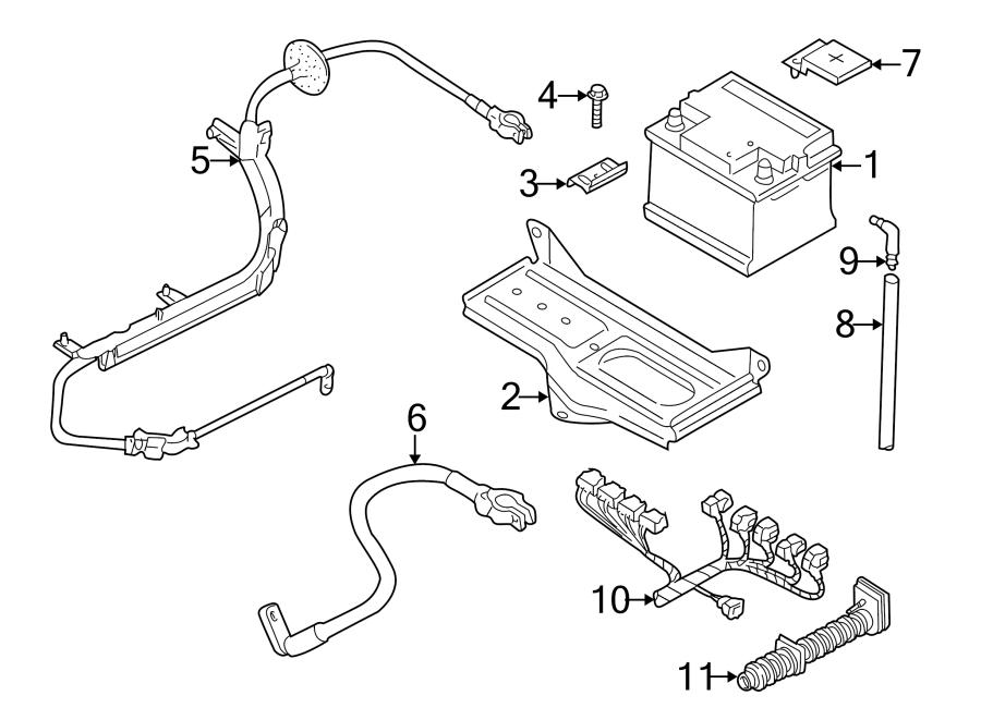 Volkswagen Passat Engine Wiring Harness  2 8 Liter  Auto